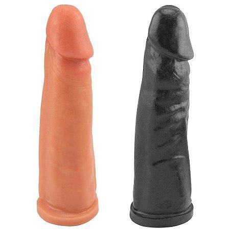 Prótese Maciça 18 x 4cm Prazer e Cia