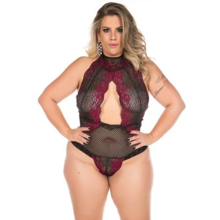 Body Luxúria Plus Size Pimenta Sexy