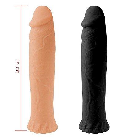 Prótese Maciça 18,5 x 3,5cm Sexy Fantasy