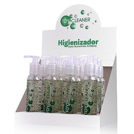 Toy Cleaner - Higienizador para brinquedos eróticos 100ml - blister 12 unidades