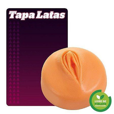 Tapa Lata em forma de vagina 2