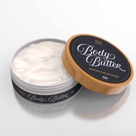 Body Butter  Manteiga para Massagem  Sexy Hot