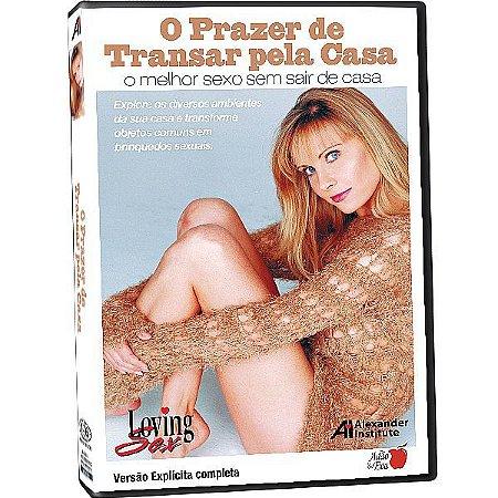 DVD - O Prazer de Transar pela Casa - Loving Sex