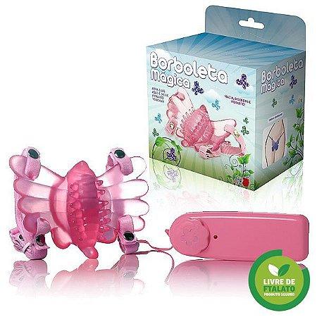Borboleta Mágica Butterfly Estimulador Feminino Rosa