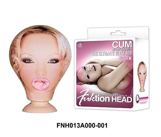 Fuktion Head Inflatable - Cabeça Boneca Inflavel Penetravel