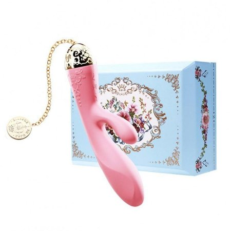 ZALO - Versailles Rosalie Rabbit Vibrator - Rosa