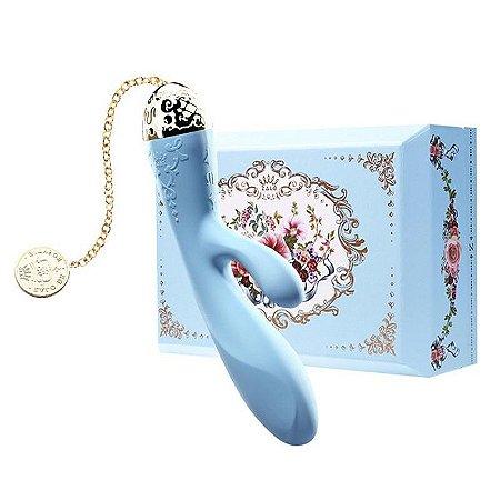 ZALO - Versailles Rosalie Rabbit Vibrator - Azul