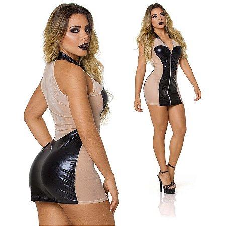 Vestido Sensual Attractive Preto