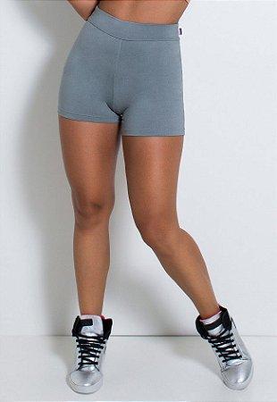 Short Hot Pant Liso (Cinza)