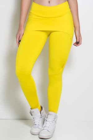 Calça Aranha (Amarelo)