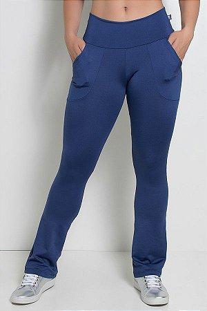 Calça Bailarina Isabel (Azul Marinho)