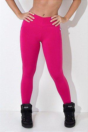 Calça Levanta Bumbum com Bolso (Rosa Pink)