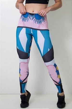 Calça Feminina Legging Sublimada Modern Art