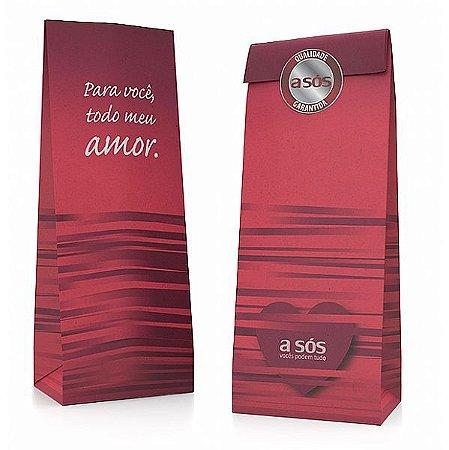 Embalagem de Papel Sustentável A Sós Pacote com 20 Unidades- 24 cm x 8,5 cm