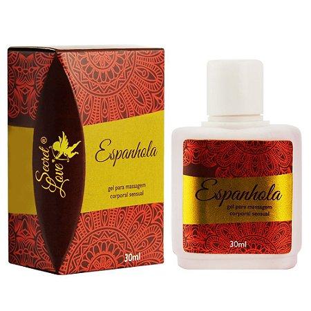 Espanhola Gel Comestível 30ml Secret Love