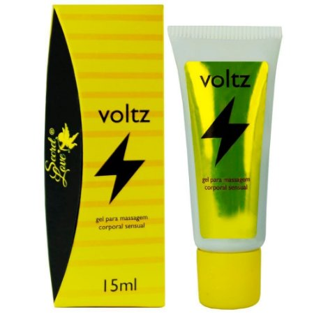Voltz Gel Excitante Eletrizante 15ml Secret Love