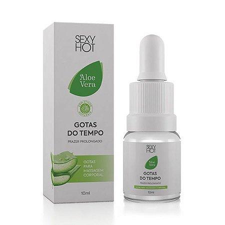 Gotas do Tempo - Aloe Vera - Prazer Prolongado - 10ml