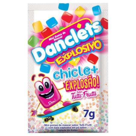 Danclets Chicletes Explosivos 7g Danilla