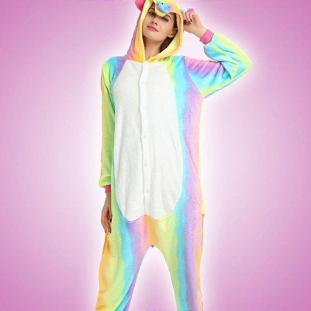 Pijama Macacão Unicórnio Colors