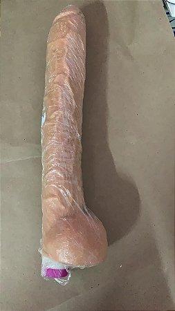 Penis com vibro com 31,5 cm
