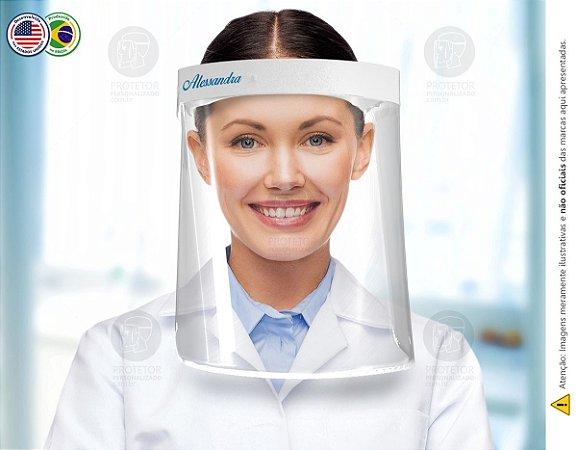 Protetor Facial Personalizado Com Seu Nome