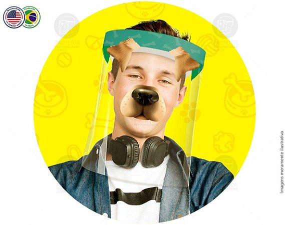 Protetor Facial Tema Cachorro
