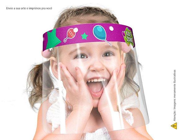Protetor Facial Infantil Personalizado Com Nome