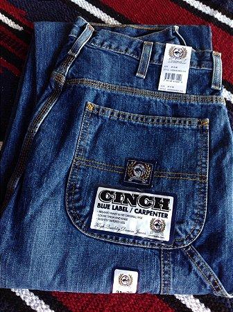 Calça Blue Label/Carpenter Cinch importada.
