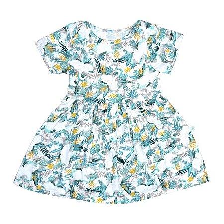 Vestido BioBaby Bebê Joia Rara