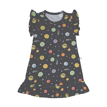 Vestido BioBaby Kids Sistema Solar