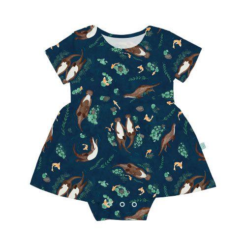 Vestido BioBaby Bebê Lontras