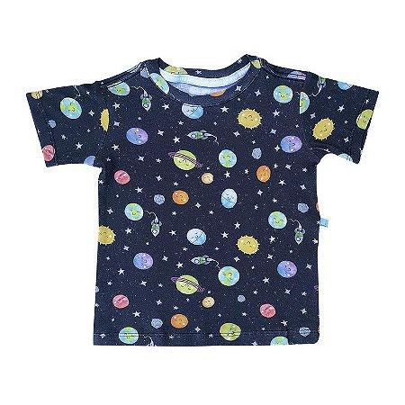 Camiseta BioBaby Kids Sistema Solar