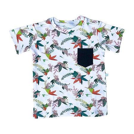Camiseta BioBaby Kids Bolso Tigre