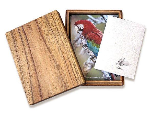 Caixa de Fotografias de Aves dos Biomas Brasileiros
