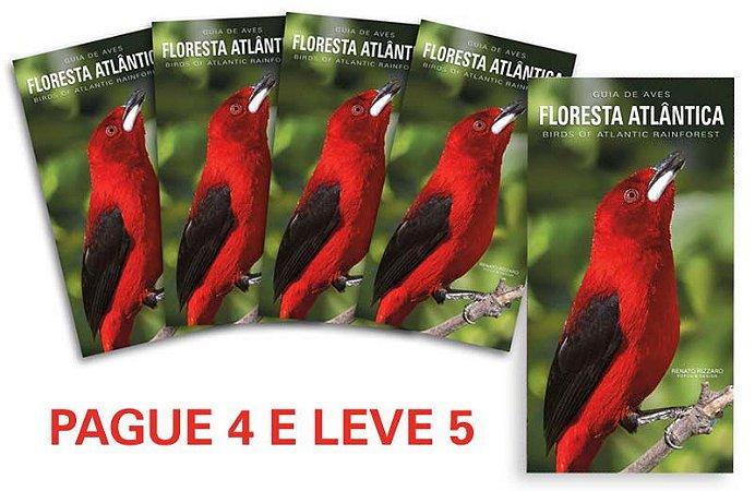 PAGUE 4 e LEVE 5 Guias de Aves da Floresta Atlântica
