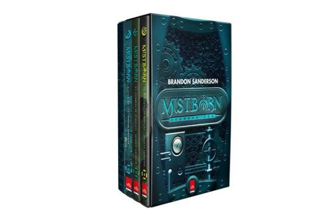 BOX Mistborn 2ª Era - Volumes 01, 02 e 03 + caderno exclusivo