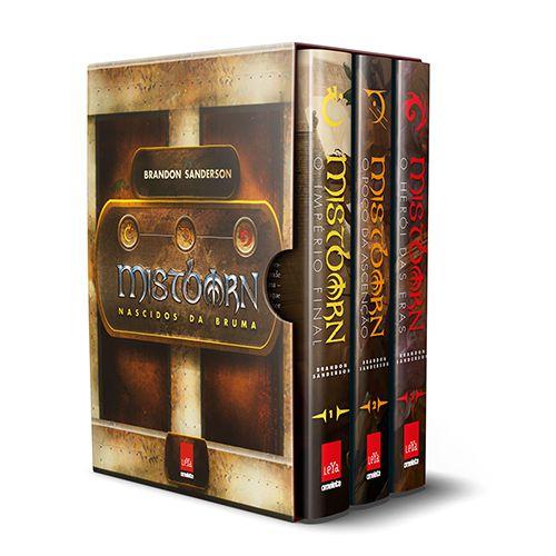 BOX Mistborn 1ª Era - Nascidos da Bruma: O Império Final - O poço da Ascensão - O herói das eras
