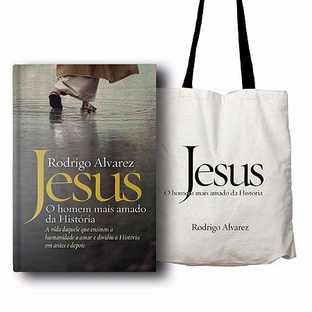 Jesus - o homem mais amado da história - BRINDE 01 ECOBAG