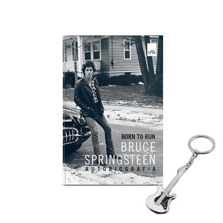 Born to Run: Bruce Springsteen - Autobiografia + BRINDE 01 chaveiro guitarra