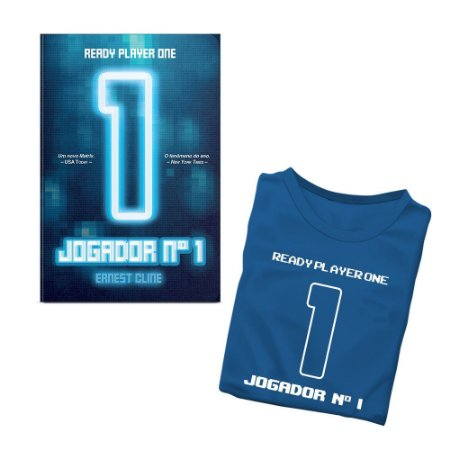 Livro Jogador Número 1 - Camiseta BRINDE