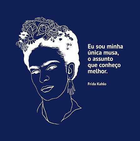 Camiseta Azul Frida Kahlo
