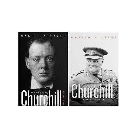Kit livros Churchill vol 1 + Churchill vol 2
