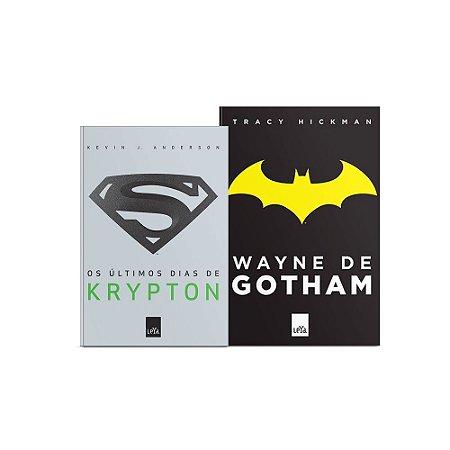KIT - Livros Os Últimos Dias de Krypton + Wayne de Gotham