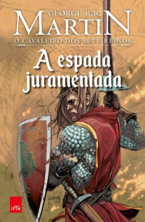 A espada juramentada em graphic novel