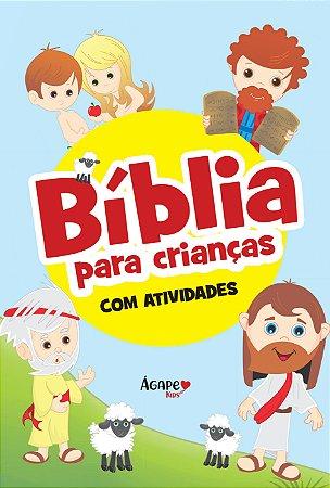 Bíblia para crianças - com atividades