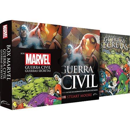 Box Marvel Guerra Civil - Guerras secretas