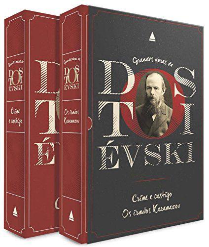 BOX Grandes obras de Dostoiévski - Crime e castigo e Os irmãos Karamazov