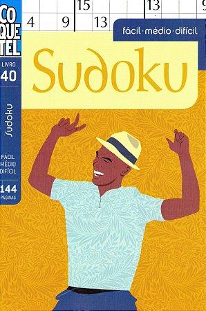 Livro Coquetel Sudoku Edição  40