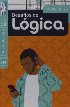 Livro Coquetel Desafios de Lógica - Edição 18