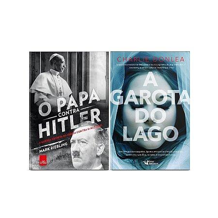 KIT livros O papa contra Hitler + A garota do lago
